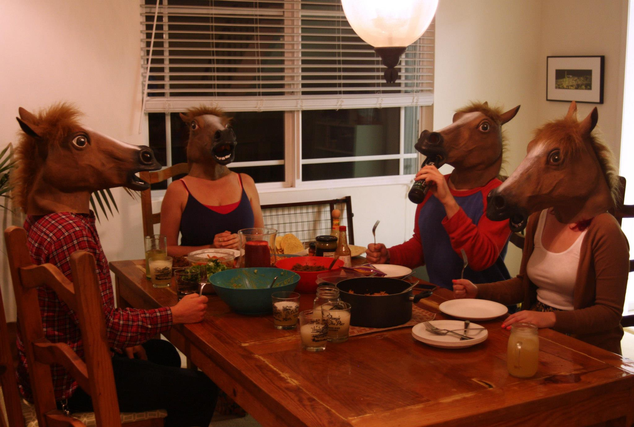 Horse Mask Headphones Hangovers