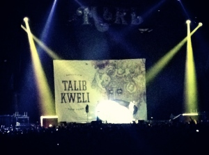 Talib Kewli at The STAPLES Center